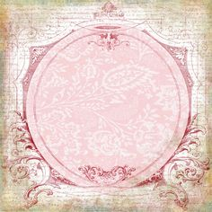 Lovely Circle Frame with Background