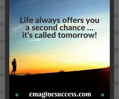 Today is the day you learn how to make tomorrow happen. #nevergiveup #tomorrow #bartism http://emaginesuccess.com