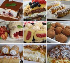 Množstvo skvelých receptov na sladké dobroty zo stránky NAJLEPŠIE pozbierané RECEPTY...