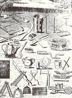 18th Century garden tools