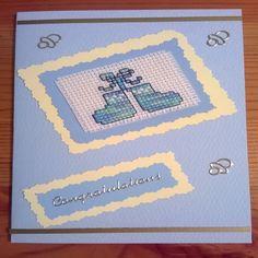 cross stitch cards - Google Search