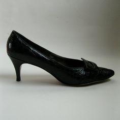 Vintage 1950s Shoes Black