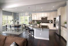 awesome Impressive Open Kitchen - Living Room Designs That Will Blow Your Mind