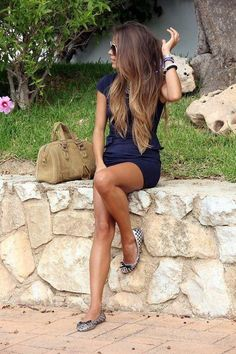 Love the gradual ombre for long hair! Love