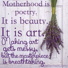 Great post on what Motherhood REALLY is......