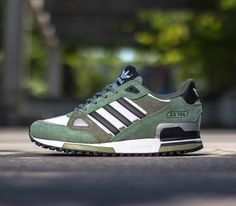 adidas Originals ZX 750 – Ft White / Black – Green
