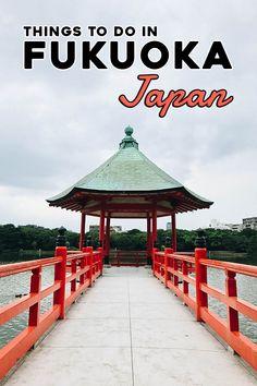 15 Things to Do in Fukuoka Japan - Ohori Park . Japan Design, Japan Travel Tips, Asia Travel, Travel Hacks, Amazing Destinations, Travel Destinations, Stuff To Do, Things To Do, Fukuoka Japan