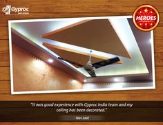 Elegant and classic, just like our customers. Ceilings that match your personality!