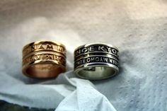 Anello argento nam myo ho renge kyo -  Original Nam ... per tutte le info contattatemi #anello #myohorengekyo #original #nam