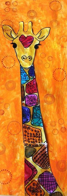 49 Super Ideas african children school for kids - Grundschule African Art Projects, Animal Art Projects, African Crafts, Winter Art Projects, African Children, African Animals, African Art For Kids, Classe D'art, Afrique Art