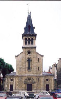 Église Sainte-Geneviève-de-la-Plaine, Saint-Denis...Ile de France