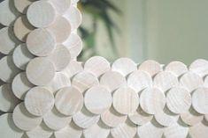 Wood Disk Mirror | 30 Amazing DIY Mirrors