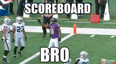 Anquan Boldin Kindly Asks Joselio Hanson To Look At The Scoreboard [GIF And Video]
