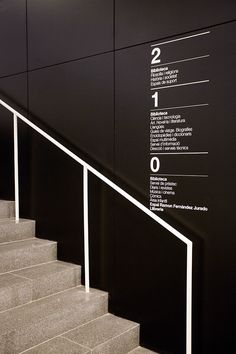 Castelldefels Central Library on Behance Floor Signage, Office Signage, Environmental Graphic Design, Environmental Graphics, Corporate Design, Hospital Signage, Directory Signs, Wayfinding Signs, Sign System