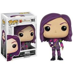 Funko POP! Disney: Descednants Mal, Multicolor