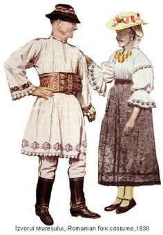 Romania Folk Natioanl Ethnic Popular Costumes Folk Embroidery, Embroidery Stitches, Embroidery Patterns, Popular Costumes, Young Frankenstein, Folk Clothing, Antique Quilts, Folk Costume, Traditional Dresses