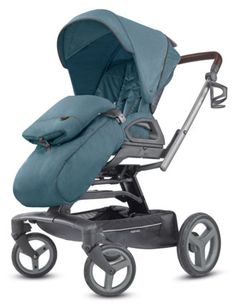 Športový kočík Inglesina Quad - Ascott Green 2018 Quad, Derby, Oxford Blue, Baby Strollers, Green, Sport, Products, Rodeo, Future