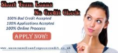 Short term loans no credit check- Arrange money quickly to get out financial crunches
