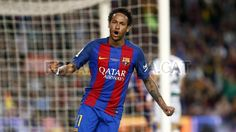 Neymar Fcb, Messi And Neymar, Barcelona Website, Fc Barcelona, Love You Babe, My Love, Best Player, American Football, Sports