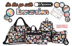 LeSportsac Los Angeles coupon deal: Shop Excursion Exclusive - Only at LeSportsac US Boutiques and LeSportsac.com!on Dailybag.com