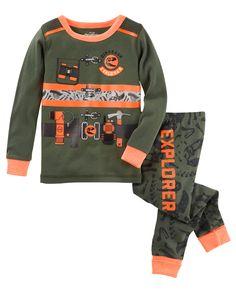 Baby Boy 2-Piece Explorer Snug Fit Cotton PJs   OshKosh.com