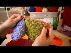 Motif για πλεκτή crochet κουβέρτα [part04]