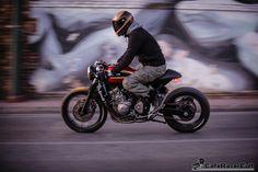 """""""Jigsaw"""" Custom Motorcycles – Honda CB 600F Hornet Cafe Racer…"""