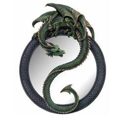 Enchanted Dragon Mirror by Nemesis Now