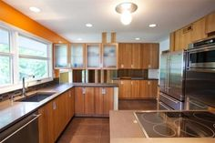 while custom cabinets and counter tops are key components of any inspirational dream kitchen.check out our 30 Great Mid century Kitchen Design ideas