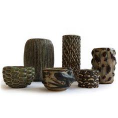 Axel Salto Collection of Stoneware 2 Cement, Concrete, Scandinavian Art, Royal Copenhagen, Handmade Pottery, Pottery Art, Stoneware, Bowls, Bubbles