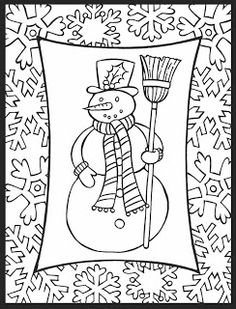 A Crowes Gathering Here Is New Holiday Free Coloring Page For The Kids PagesColoring SheetsAdult ColoringChristmas