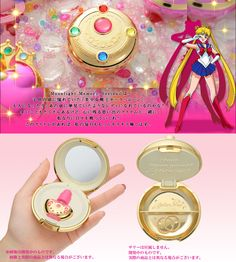 Bandai Premium Sailor Moon Moonlight Memory Makeover Brooch Mirror Case Japan | eBay
