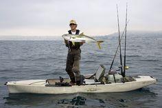 "Hobie Pro Angler 14 with ""Mirage"" Drive.  hobiecat.com/fishing"