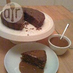 Instant Coffee Cake with Coffee Sauce @ allrecipes.co.uk