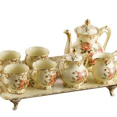 (via Pin by Debbie Orcutt on Tea Service ~ Carts ~ Trays | Pinterest)