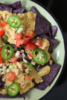 Chili Con Queso Nachos | POPSUGAR Food