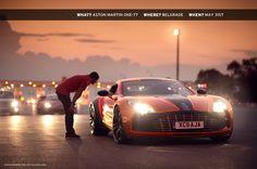 An Aston Martin passes through the one of Europe's many boarders Maserati, Bugatti, Lamborghini, Ferrari, Royce, My Dream Car, Dream Cars, Jaguar, Porsche