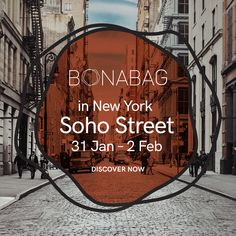 BonaBag at New York Soho Street! 📸 Now it's time to meet on 31 Jan. New York Soho, Stand By You, Artisan, Meet, Social Media, Journal, Pure Products, Bags, Instagram