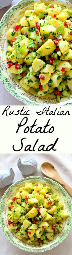 Rustic Italian Potato Salad ~ The Complete Savorist