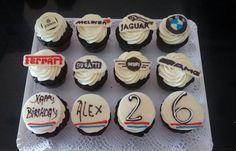 Muffins personalizados para cumpleaños, bodas, mesa dulce. Wedding, Birthday d'Alicia Café Spain, Estepona, Guadalmina, Sotogrande