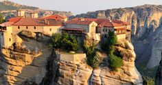 Meteora daily tour from Halkidiki. Byzantine monasteries built on 24 towering vertical rocks.