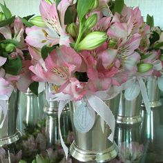 Vasinhos de Prata com tag personalizada ! Um charme de lembrancinha  #linhalembrancinhasd @liligiardino
