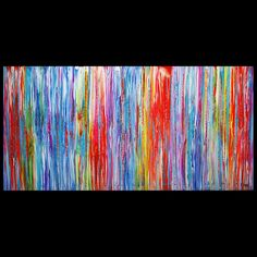 Original HUGE Abstract painting WALL ART Modern Contemporary canvas UNIQUE decor in Art, Direct from the Artist, Paintings | eBay