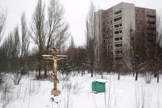 Prypyat, Ukraine-Located near the decommissioned power station of Chernobyl, this town, which was built in 1970 for workers, was abandoned after the nuclear plant accident on April 26, 1986.