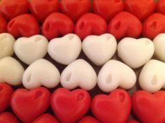 Sabonete coração para lavabo