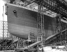 Photograph Vintage Steamship RMS Titanic Under Contruction 1911c | eBay