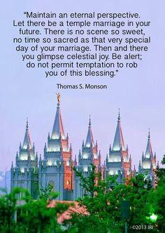 #PresidentMonson  #chastity  #eternalmarriage