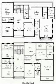 House Layout Plans, Duplex House Plans, Family House Plans, Luxury House Plans, Dream House Plans, House Layouts, House Floor Plans, House Floor Design, Modern House Design