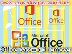 Do you know how to remove Microsoft Office password when you lost it? You can use an Office password remover.