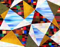 Istvan Bauer Quilts, Contemporary, Blanket, Rugs, Painting, Home Decor, Art, Abstract Backgrounds, Board